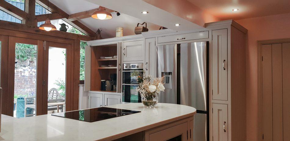 Bespoke Kitchen and Oak framed Extension